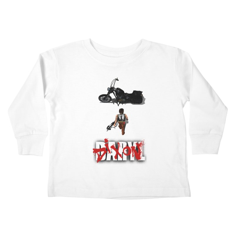 Daryl Kids Toddler Longsleeve T-Shirt by thestray's Shop