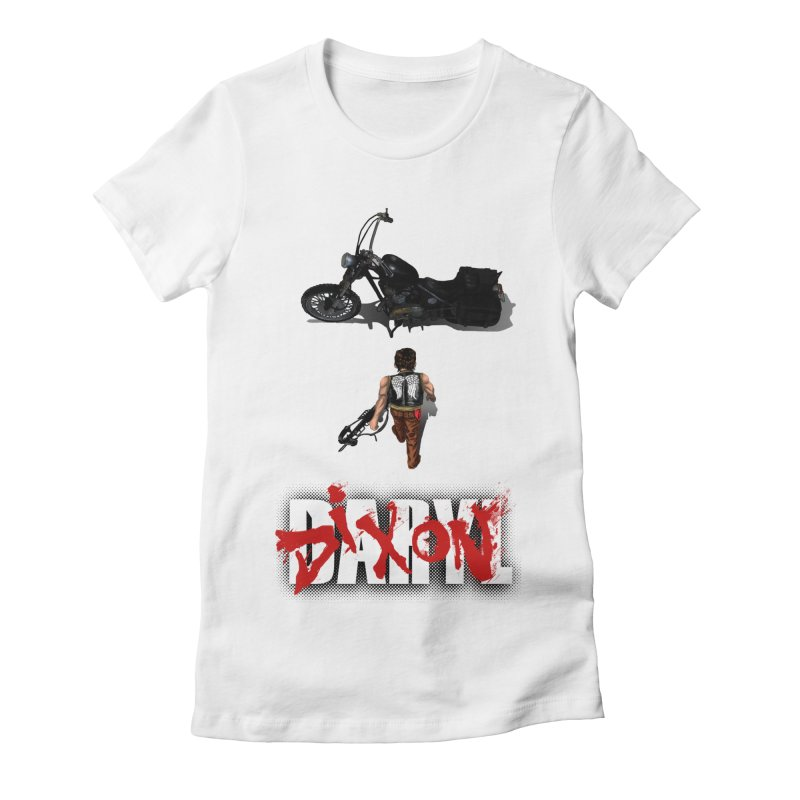 Daryl Women's Fitted T-Shirt by thestray's Shop