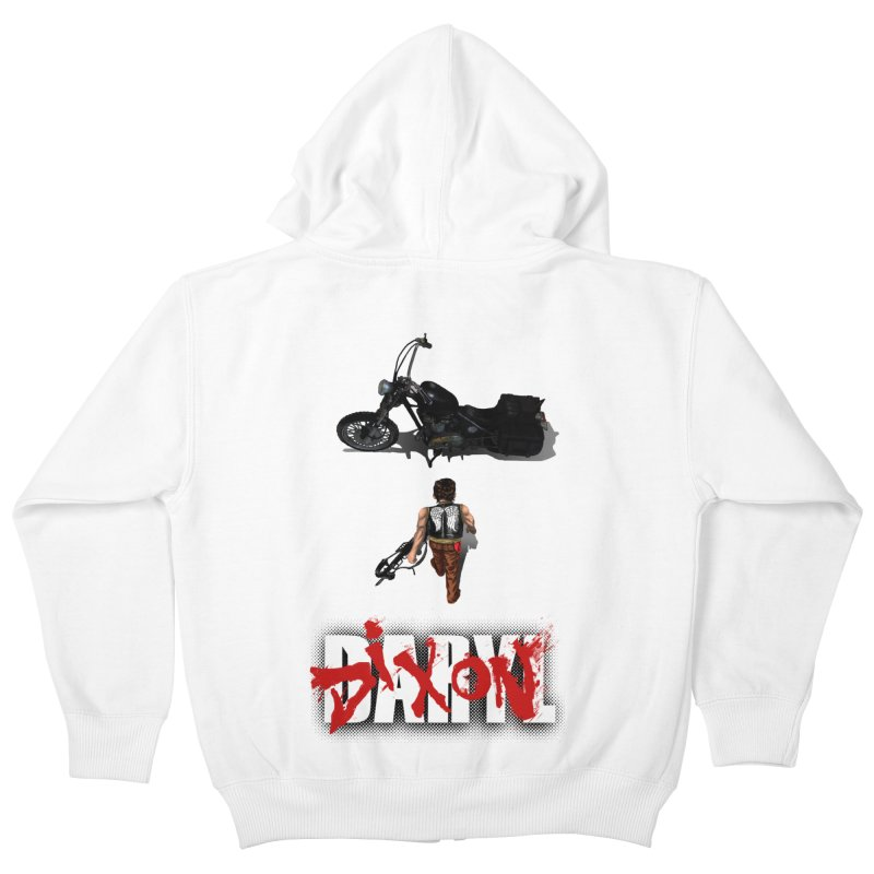 Daryl Kids Zip-Up Hoody by thestray's Shop