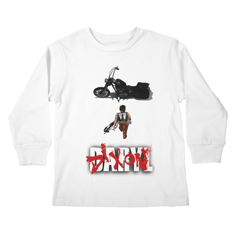 Daryl Kids Longsleeve T-Shirt by thestray's Shop