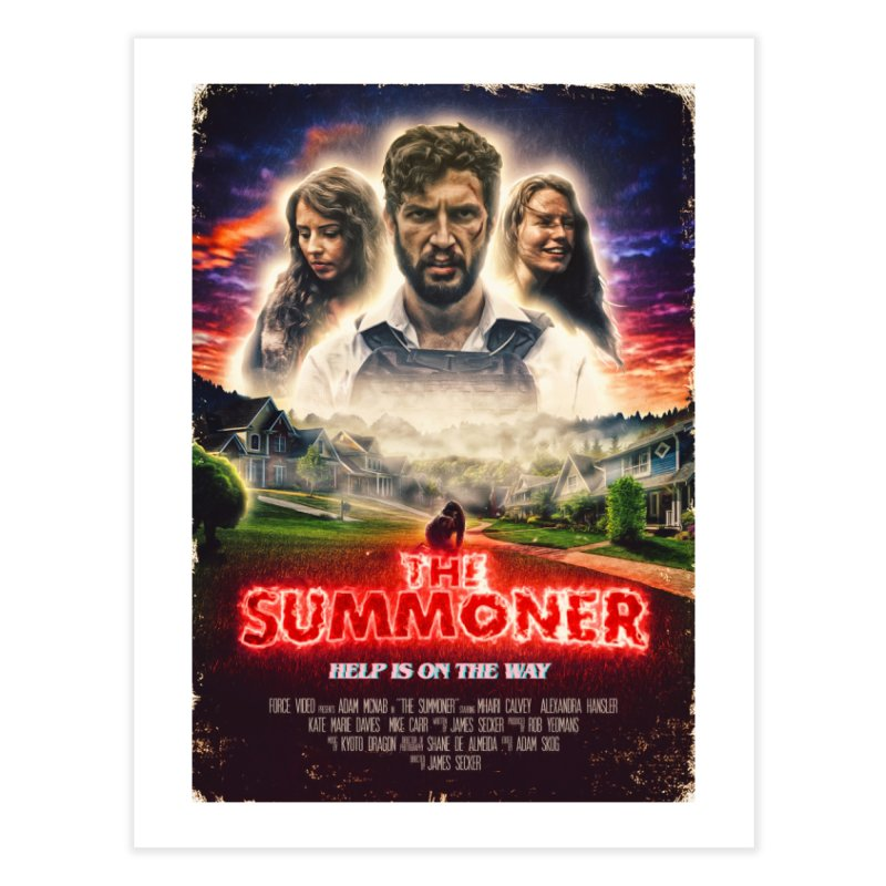 The Summoner - Poster Art Home Fine Art Print by