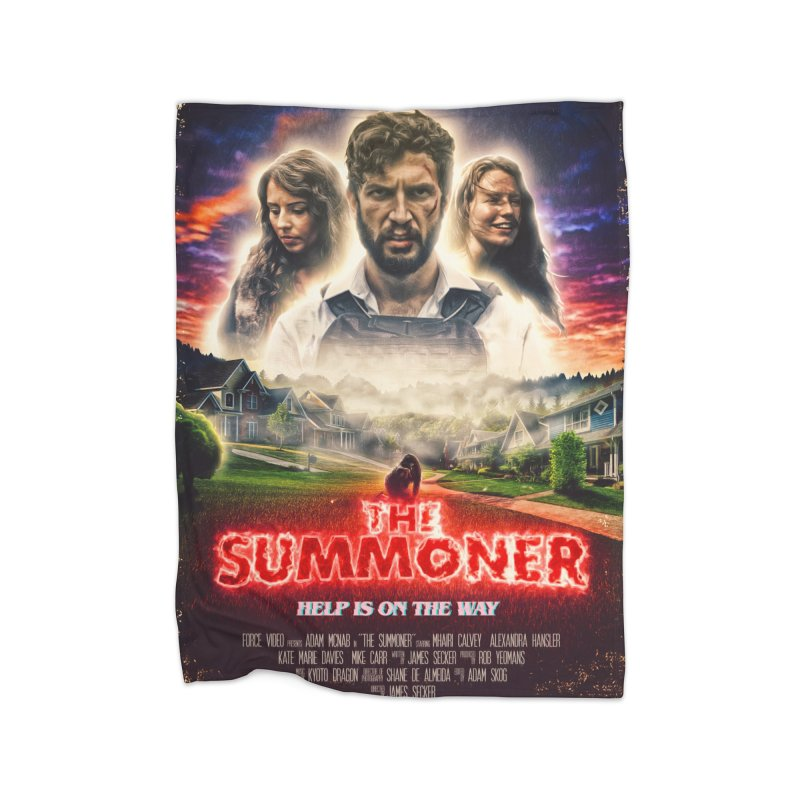 The Summoner - Poster Art Home Fleece Blanket Blanket by