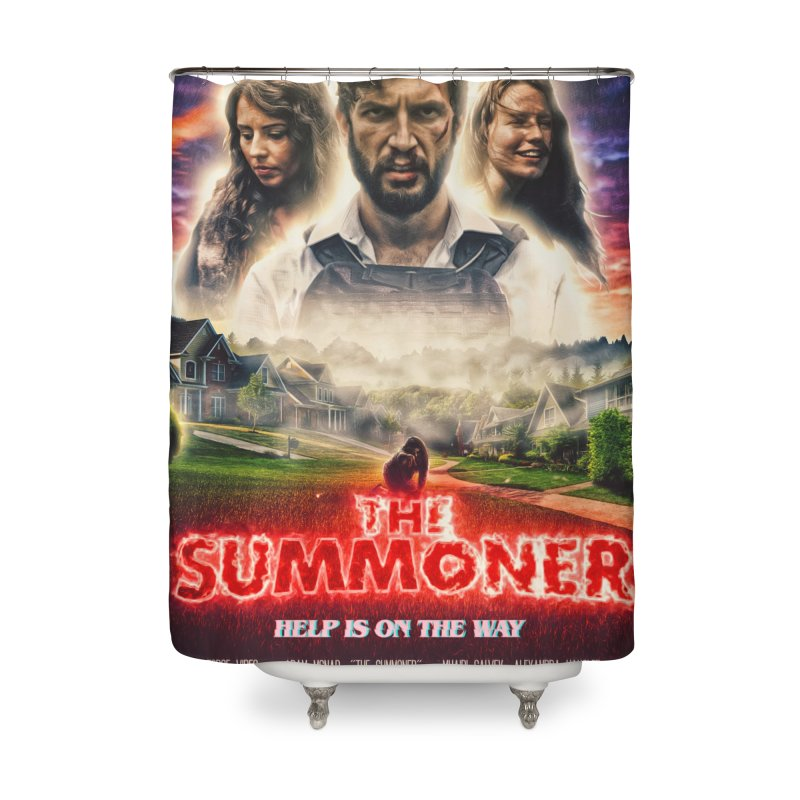 The Summoner - Poster Art Home Shower Curtain by