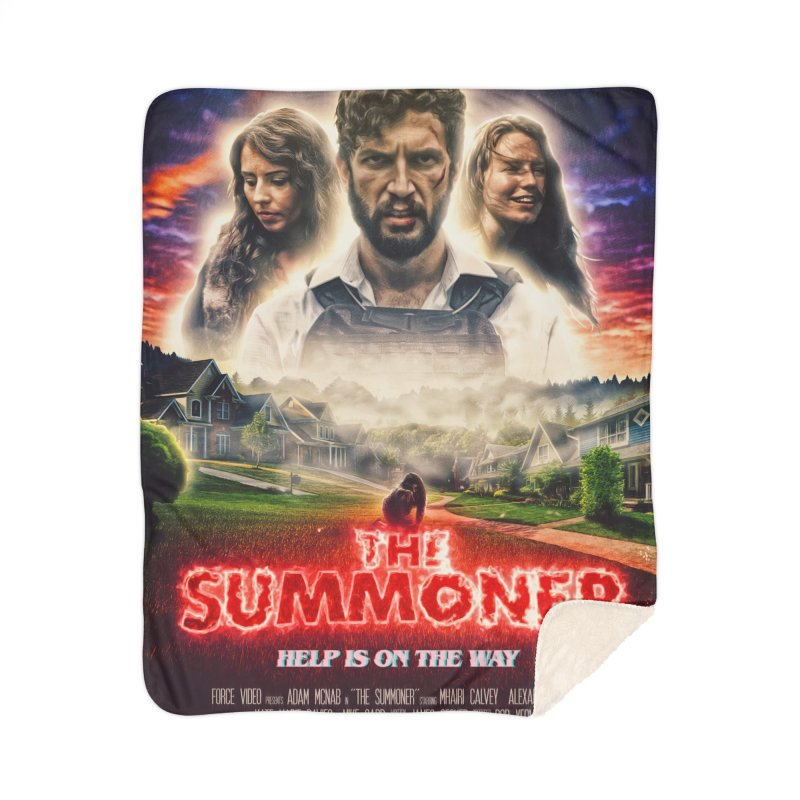The Summoner - Poster Art Home Sherpa Blanket Blanket by