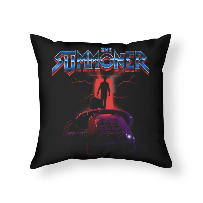 The Summoner - Take The Call Home Throw Pillow by