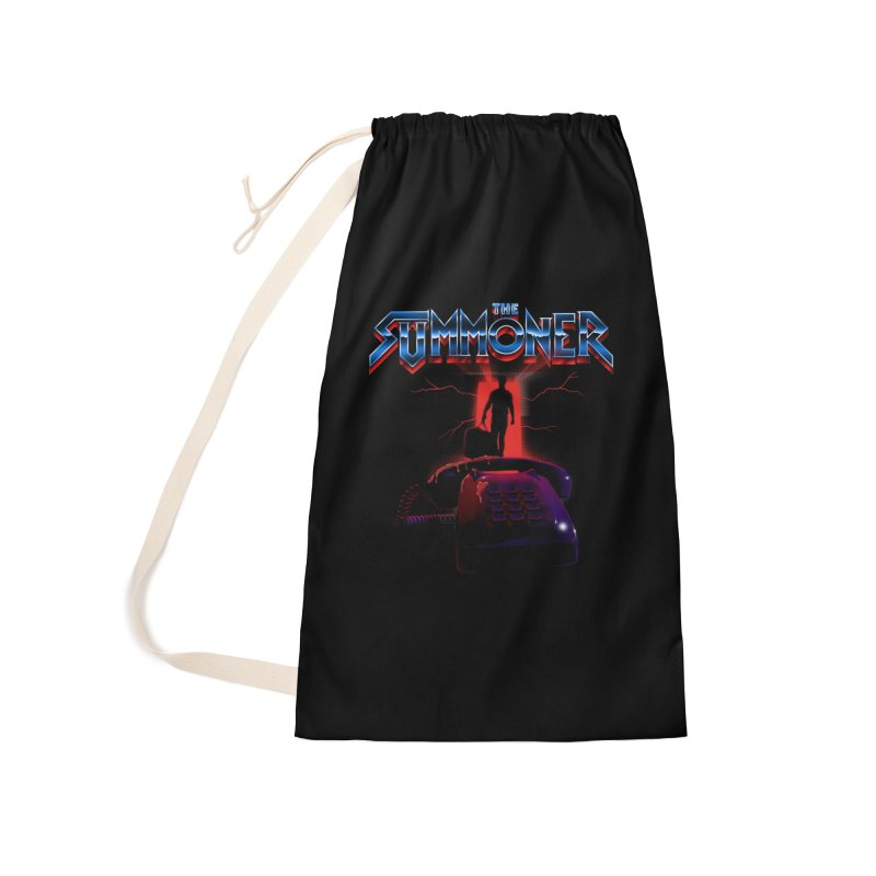 The Summoner - Take The Call Accessories Laundry Bag Bag by