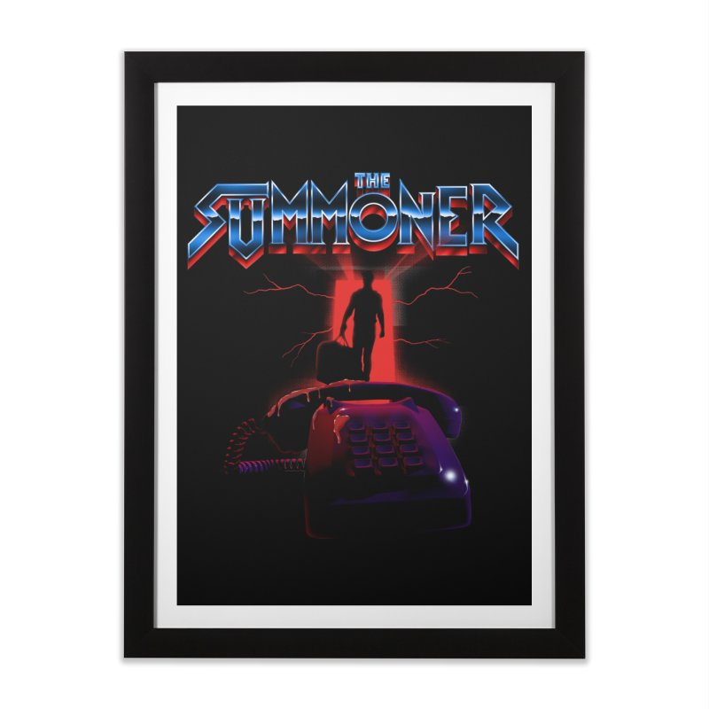 The Summoner - Take The Call Home Framed Fine Art Print by