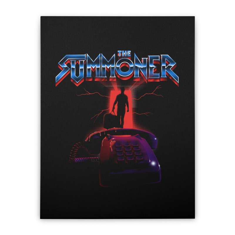 The Summoner - Take The Call Home Stretched Canvas by