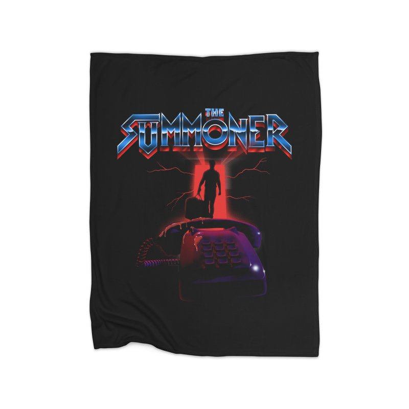 The Summoner - Take The Call Home Fleece Blanket Blanket by