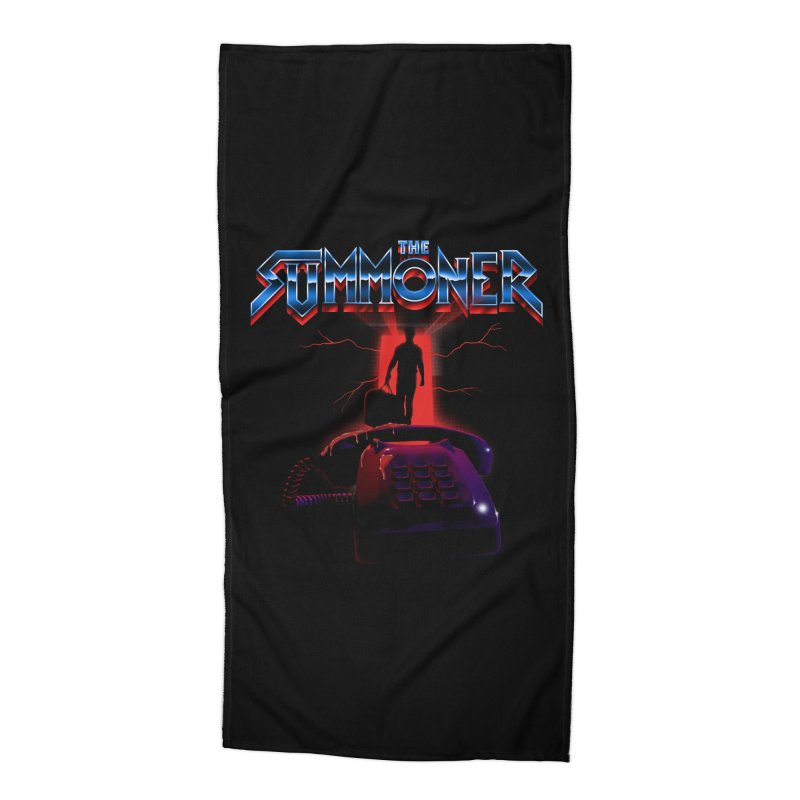 The Summoner - Take The Call Accessories Beach Towel by