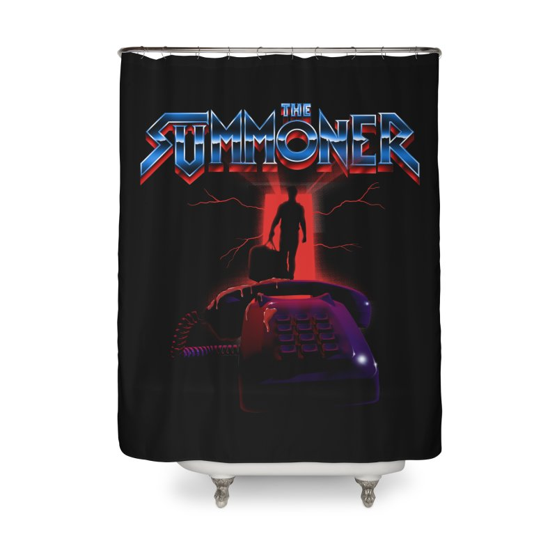 The Summoner - Take The Call Home Shower Curtain by