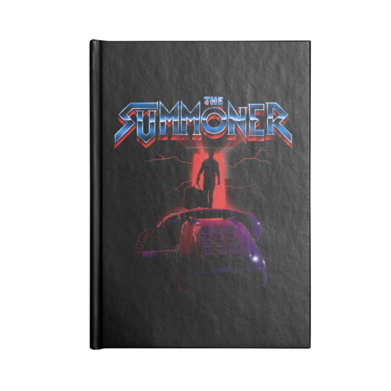 The Summoner - Take The Call Accessories Lined Journal Notebook by