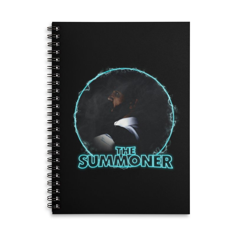 The Summoner - No Smoke Without Fire Accessories Lined Spiral Notebook by
