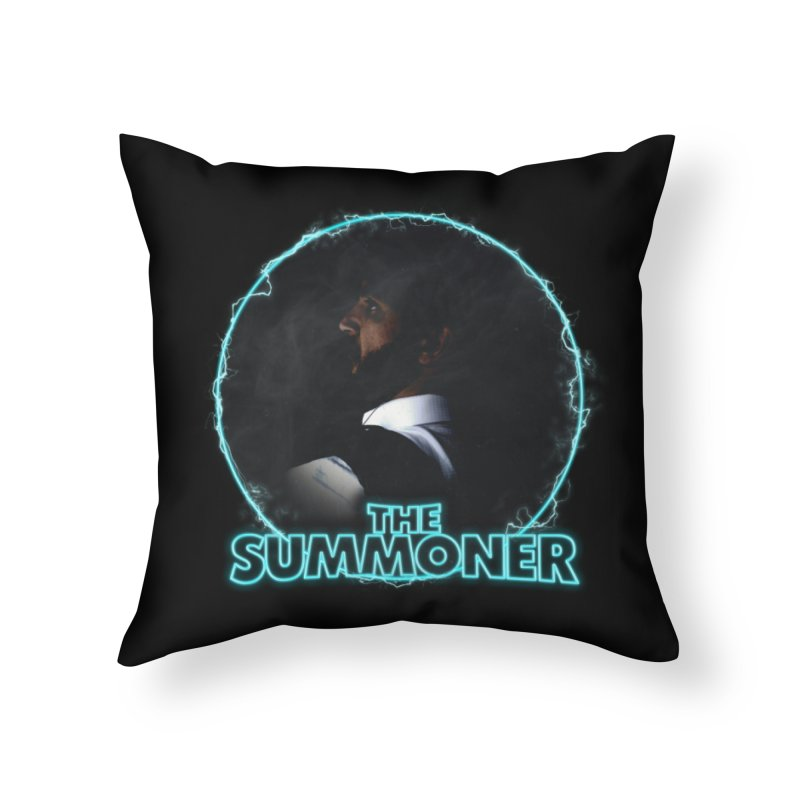 The Summoner - No Smoke Without Fire Home Throw Pillow by