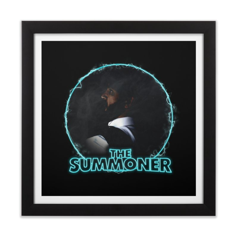 The Summoner - No Smoke Without Fire Home Framed Fine Art Print by