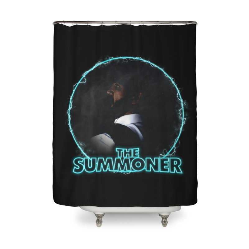 The Summoner - No Smoke Without Fire Home Shower Curtain by
