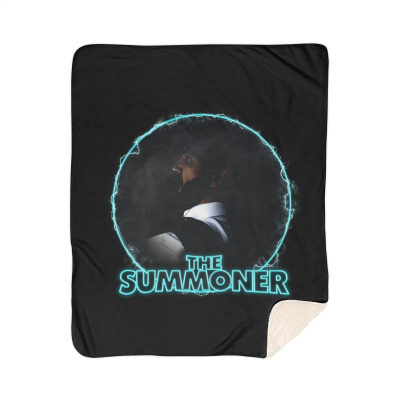 The Summoner - No Smoke Without Fire Home Sherpa Blanket Blanket by