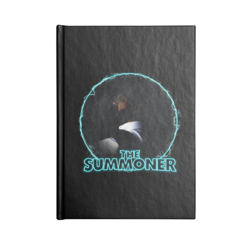 The Summoner - No Smoke Without Fire Accessories Lined Journal Notebook by