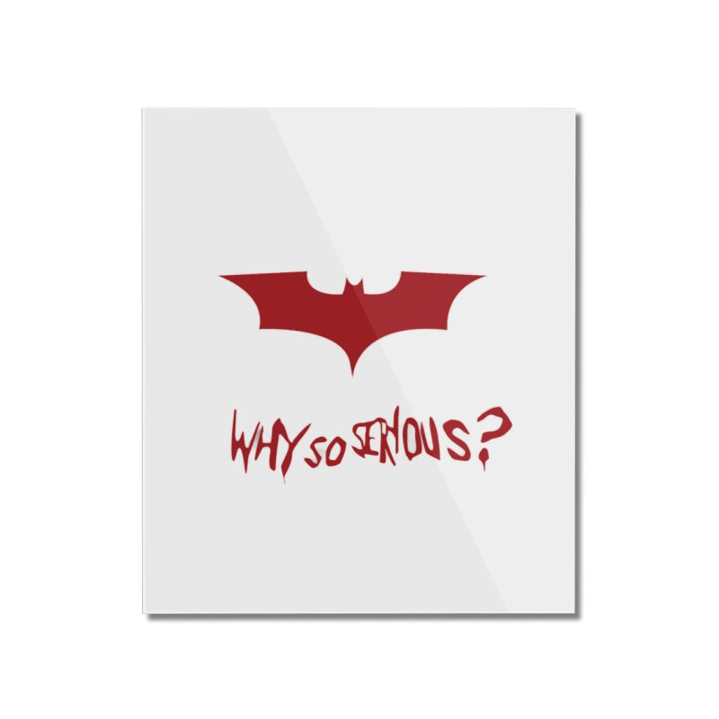 Why So Serious Batman Joker The Superheroes Batman T Shirt