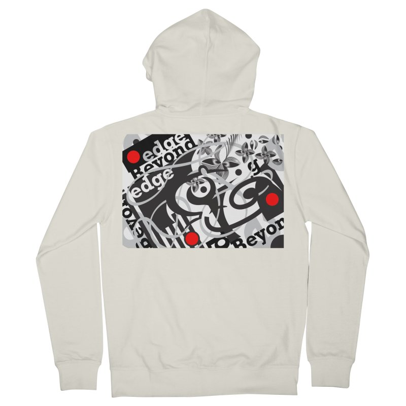 Kiwi GESTALT Men's Zip-Up Hoody by thethinkforward's Artist Shop