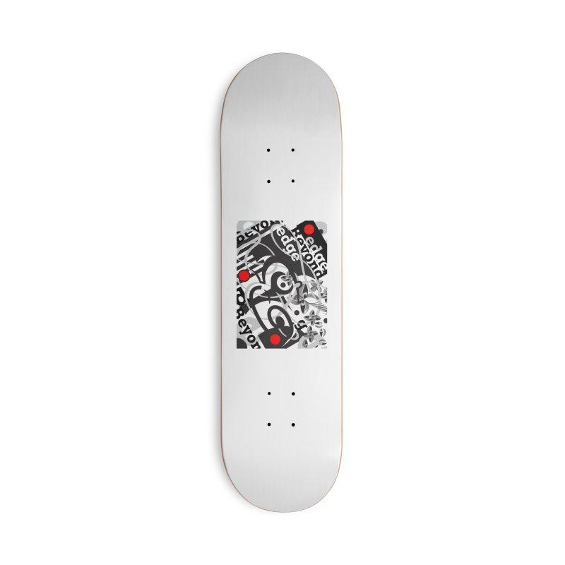 Kiwi GESTALT Accessories Skateboard by thethinkforward's Artist Shop