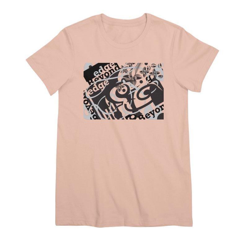 Kiwi GESTALT Women's Premium T-Shirt by thethinkforward's Artist Shop