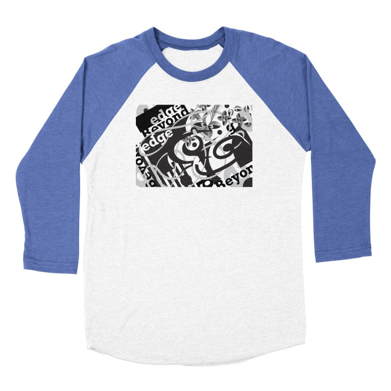 Kiwi GESTALT Women's Baseball Triblend Longsleeve T-Shirt by thethinkforward's Artist Shop