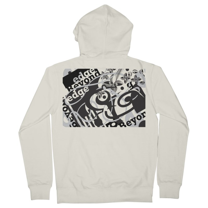 Kiwi GESTALT Men's French Terry Zip-Up Hoody by thethinkforward's Artist Shop