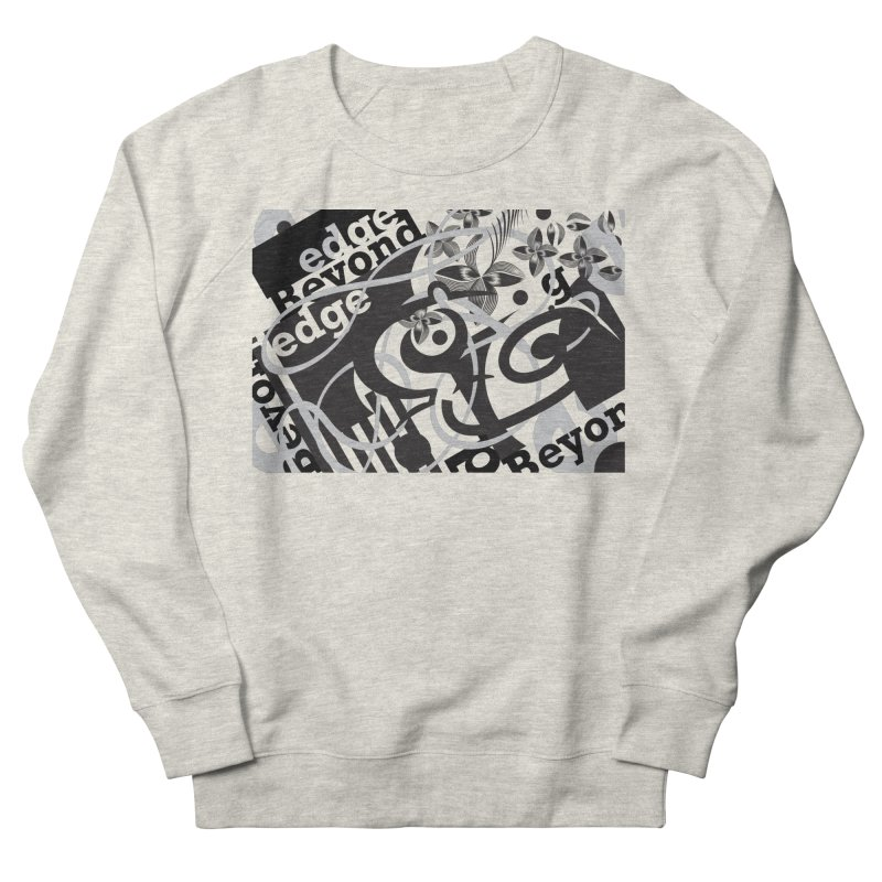 Kiwi GESTALT Men's French Terry Sweatshirt by thethinkforward's Artist Shop