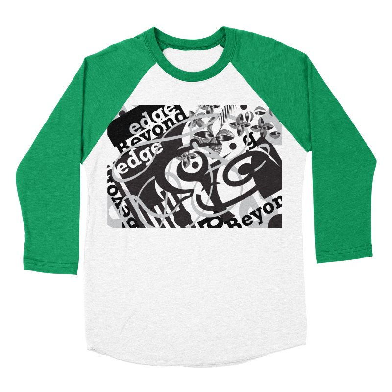 Kiwi GESTALT Men's Baseball Triblend Longsleeve T-Shirt by thethinkforward's Artist Shop