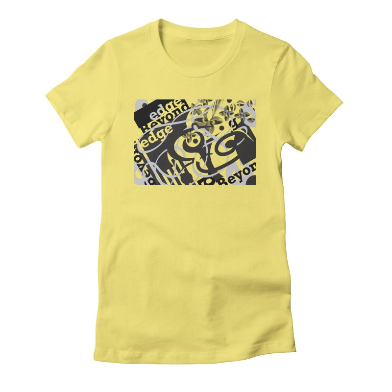 Kiwi GESTALT Women's Fitted T-Shirt by thethinkforward's Artist Shop