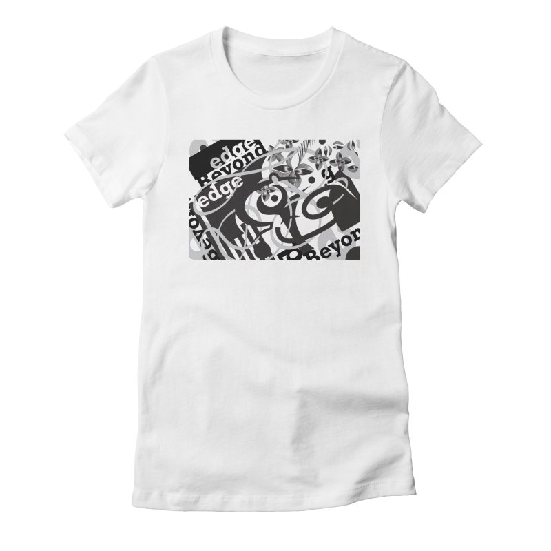 Kiwi GESTALT Women's Fitted T-Shirt by thethinkforward's Artist Shop