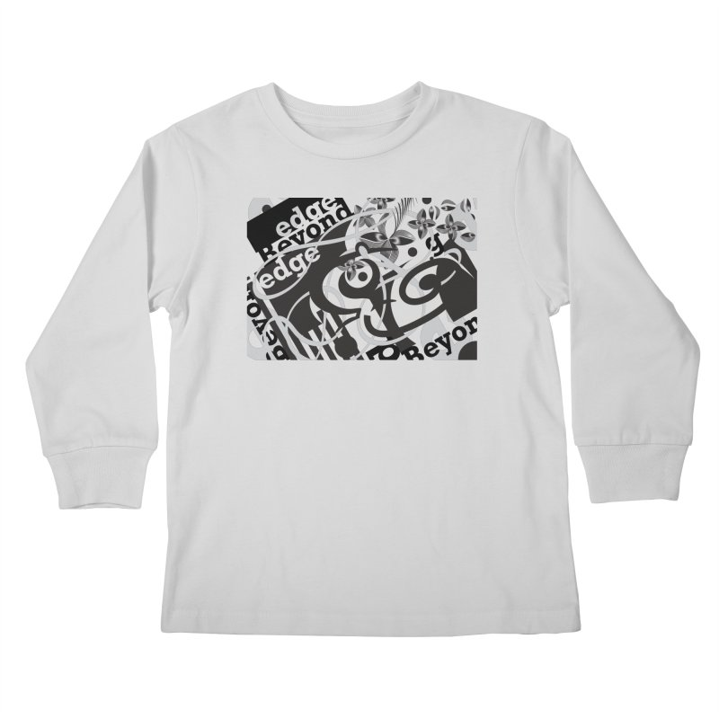 Kiwi GESTALT Kids Longsleeve T-Shirt by thethinkforward's Artist Shop