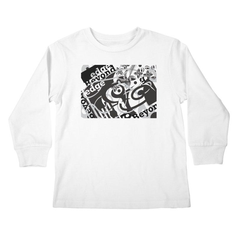 Kiwi GESTALT Kids Longsleeve T-Shirt by thethinkforward's Artist Shop