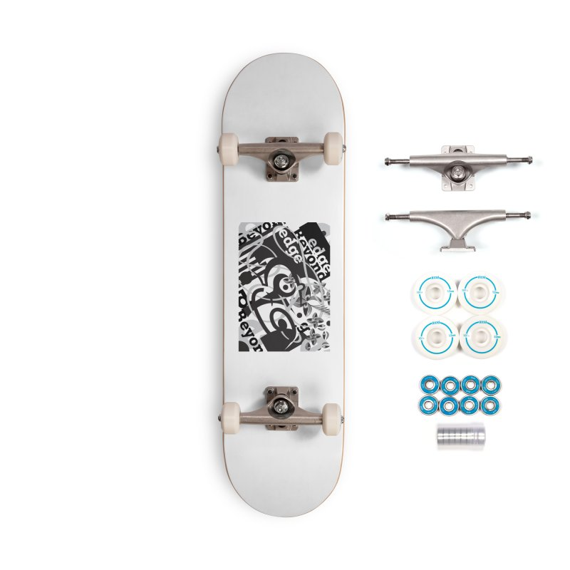 Kiwi GESTALT Accessories Complete - Basic Skateboard by thethinkforward's Artist Shop