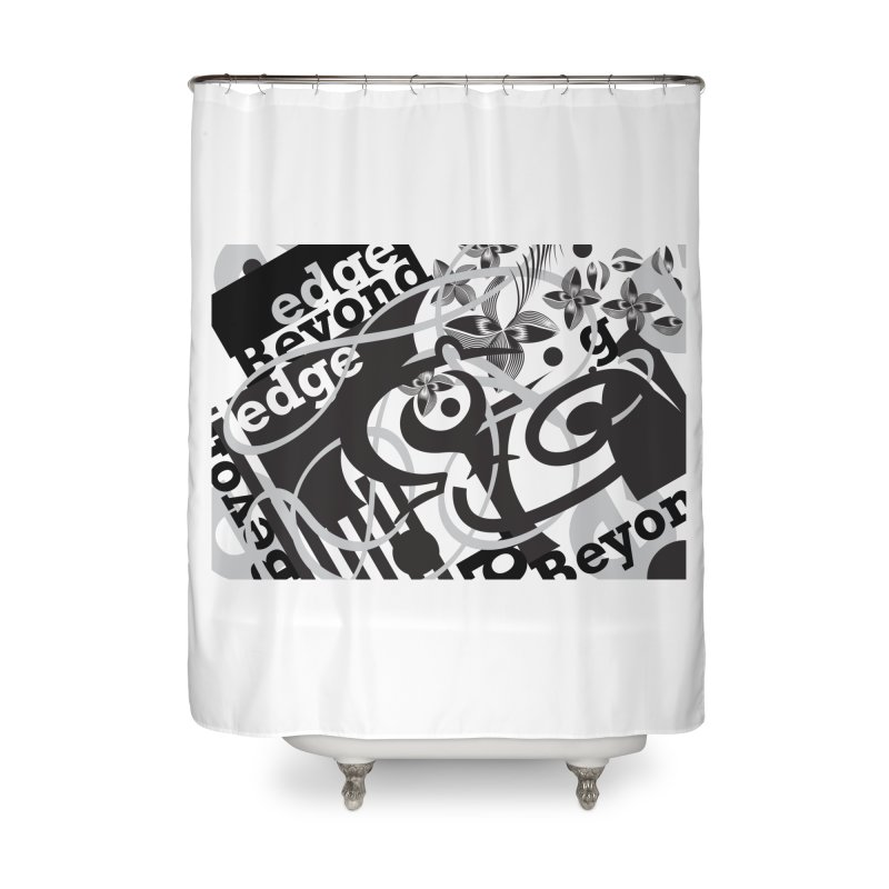 Kiwi GESTALT Home Shower Curtain by thethinkforward's Artist Shop