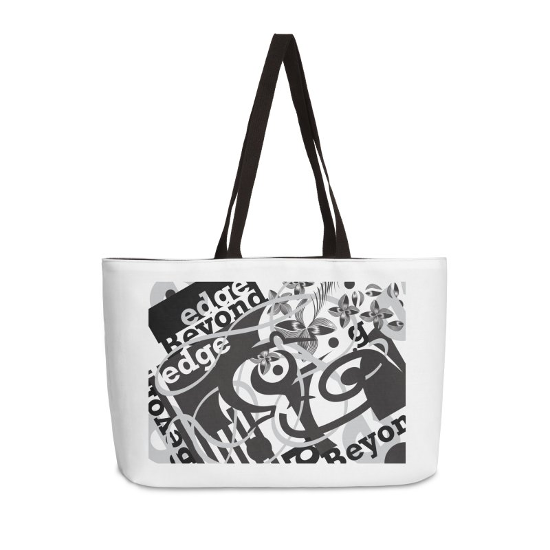 Kiwi GESTALT Accessories Weekender Bag Bag by thethinkforward's Artist Shop