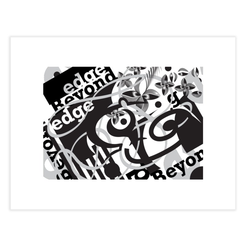 Kiwi GESTALT Home Fine Art Print by thethinkforward's Artist Shop
