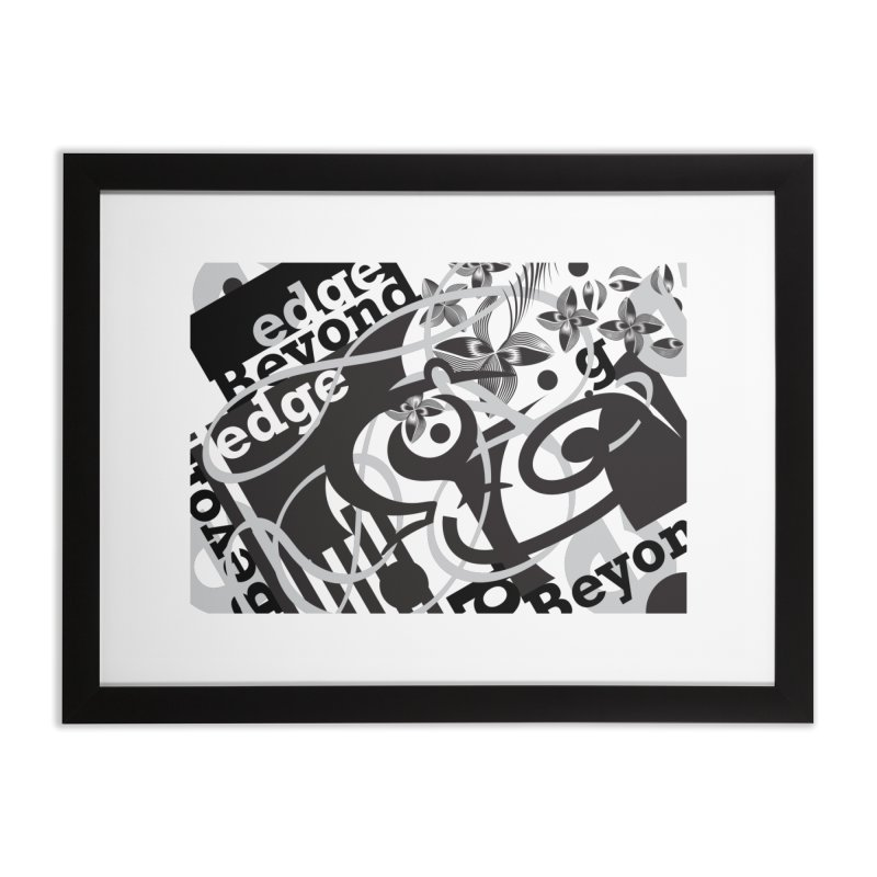 Kiwi GESTALT Home Framed Fine Art Print by thethinkforward's Artist Shop