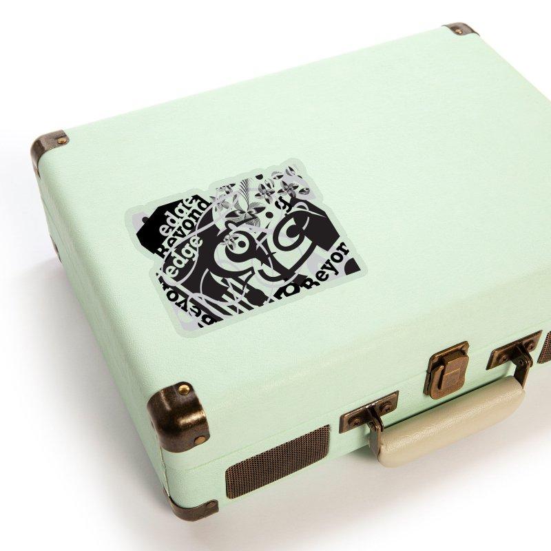 Kiwi GESTALT Accessories Sticker by thethinkforward's Artist Shop