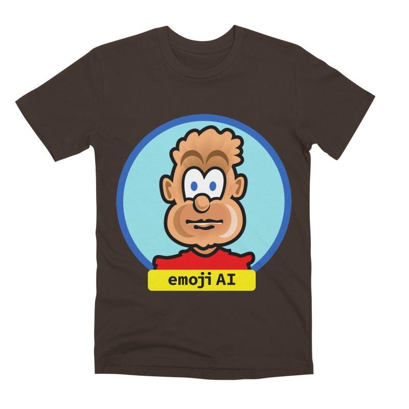Emoji  AI Men's Premium T-Shirt by thethinkforward's Artist Shop
