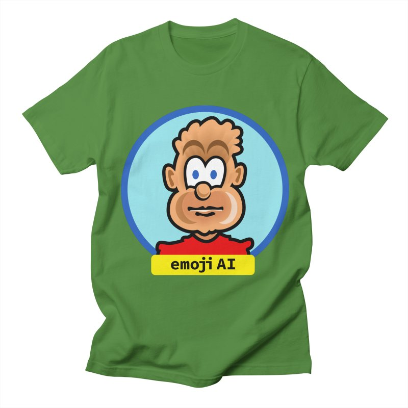Emoji  AI Men's Regular T-Shirt by thethinkforward's Artist Shop