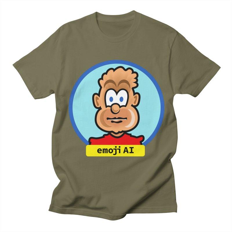 Emoji  AI Men's T-Shirt by thethinkforward's Artist Shop
