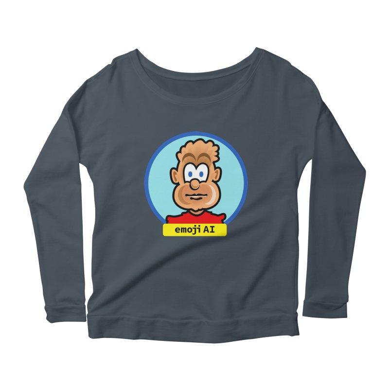 Emoji  AI Women's Longsleeve T-Shirt by thethinkforward's Artist Shop