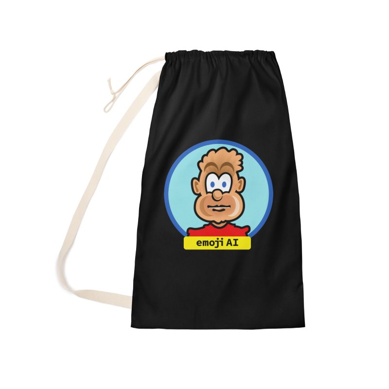 Emoji  AI Accessories Laundry Bag Bag by thethinkforward's Artist Shop