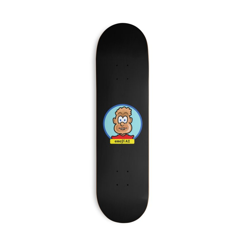 Emoji  AI Accessories Deck Only Skateboard by thethinkforward's Artist Shop