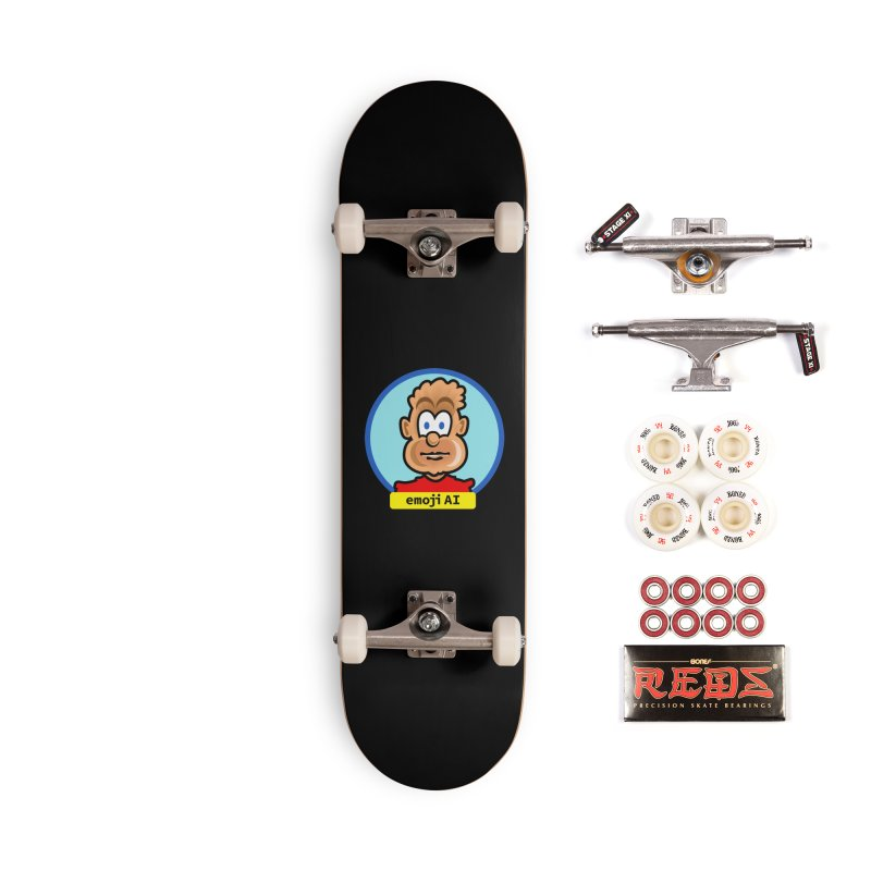 Emoji  AI Accessories Complete - Pro Skateboard by thethinkforward's Artist Shop
