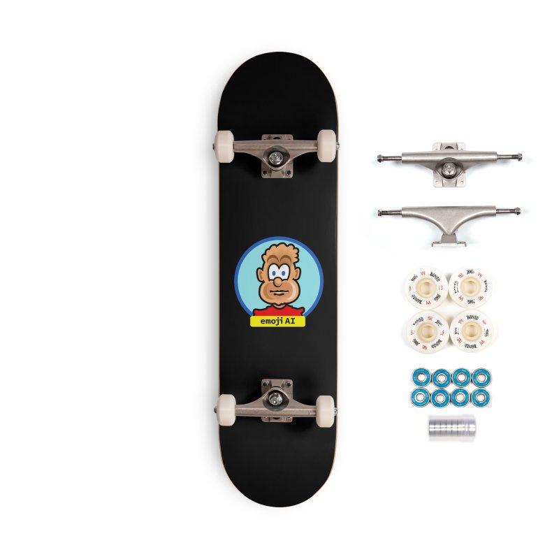 Emoji  AI Accessories Skateboard by thethinkforward's Artist Shop