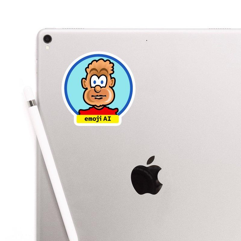 Emoji  AI Accessories Sticker by thethinkforward's Artist Shop