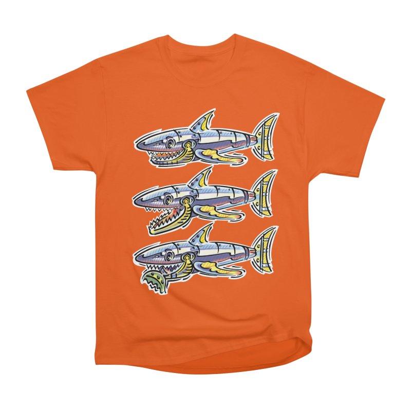 Shark Eat Women's T-Shirt by thethinkforward's Artist Shop